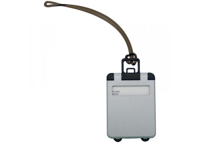 Bagagelabel koffer Zilver LT90459| bedrukken