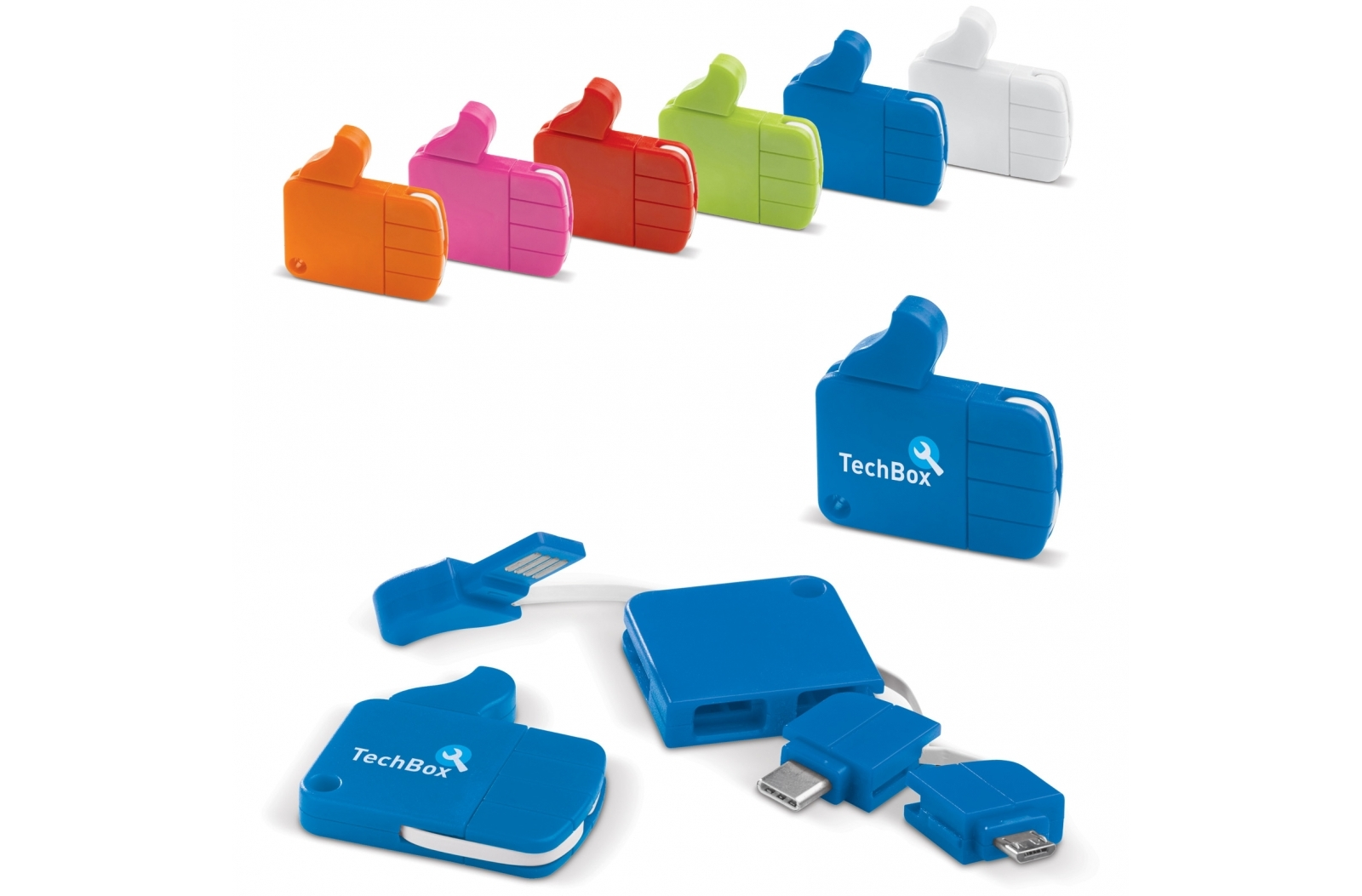 USB Connector 2 in 1 Like